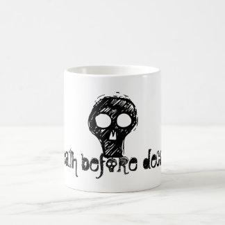 o, death before decaf!, hw designs magic mug