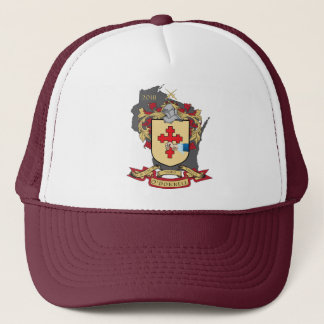 """O""""Donnell Family Crest_Wisconsin Trucker Hat"""