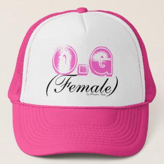 O.G, (Female), by Ellington Wells Trucker Hat