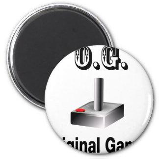 O.G. Original Gamer 6 Cm Round Magnet