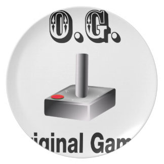 O.G. Original Gamer Plate