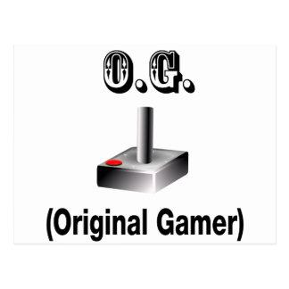O.G. Original Gamer Postcard