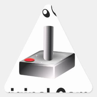 O.G. Original Gamer Triangle Sticker