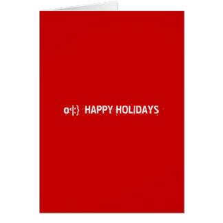 o HAPPY HOLIDAYS Greeting Cards