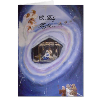 O, Holy Night Christmas Card