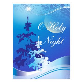 O Holy Night Custom Christmas Postcard