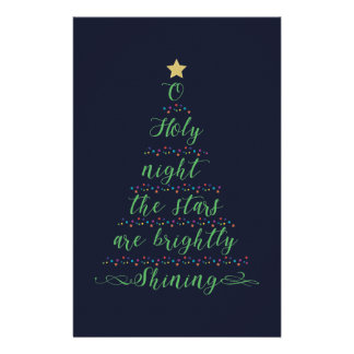 O Holy Night Stationery