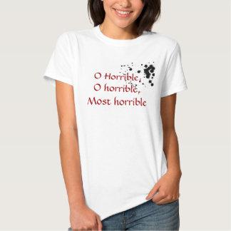 O Horrible Tees