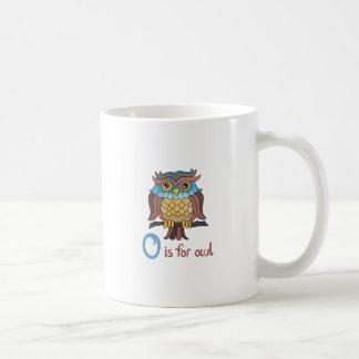 O IS FOR OWL MUG