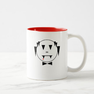 o.l v.a.m.p thirsty white - no text | Two-Tone mug