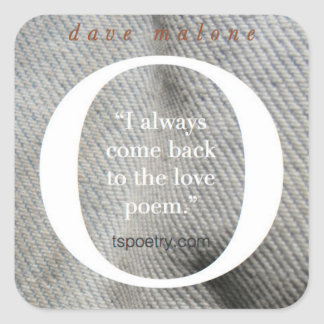 O Love Poems—I always come back stickers