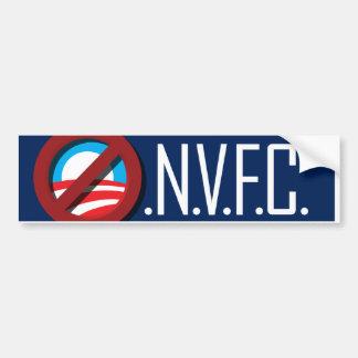O.N.V.F.C. Bumper. Bumper Sticker