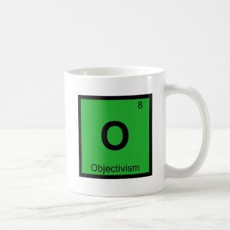 O - Objectivism Philosophy Chemistry Symbol Mug