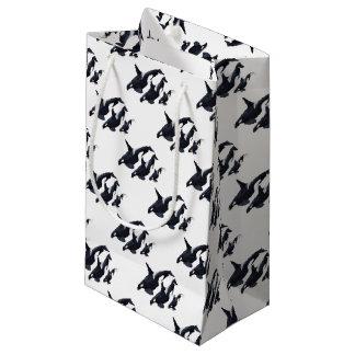 O.orca-fond transparent small gift bag