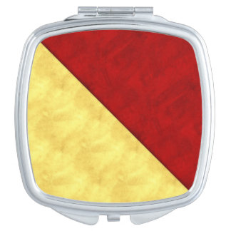O Oscar Watercolor Nautical Signal Maritime Flag Makeup Mirrors