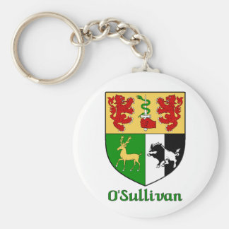 O Sullivan Family Shield Keychain