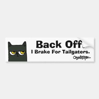 "O&T Bumper Sticker ""Back Off"""