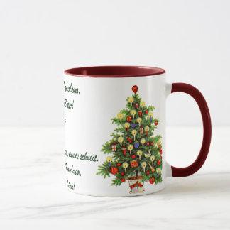 O Tannenbaum Christmas Mug