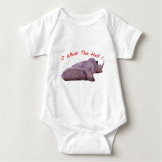 o what the hell ! baby bodysuit