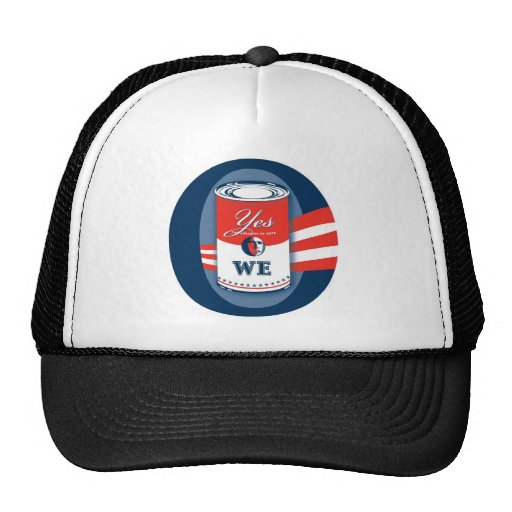 """""""O, Yes We Can"""" Caps. Hats"""