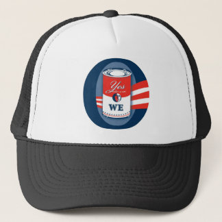 """""""O, Yes We Can"""" Caps. Trucker Hat"""