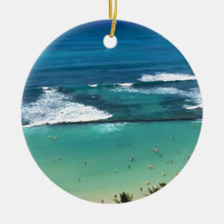 OAHU CERAMIC ORNAMENT