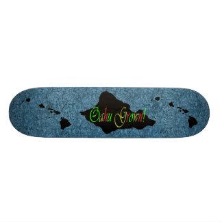 Oahu grown Hawaiian Island skateboard