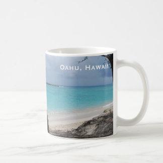 Oahu Hawaii Beach Classic Mug