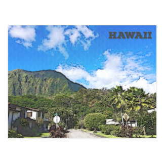 Oahu, Hawaii Postcard
