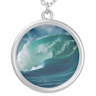 Oahu, Hawaii Silver Plated Necklace