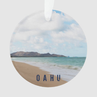 Oahu Hawaii Tropical Beach 2 Photo & Text