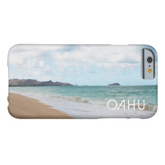 Oahu Hawaii Waves & Beach Oil Paint Digital Art Barely There iPhone 6 Case