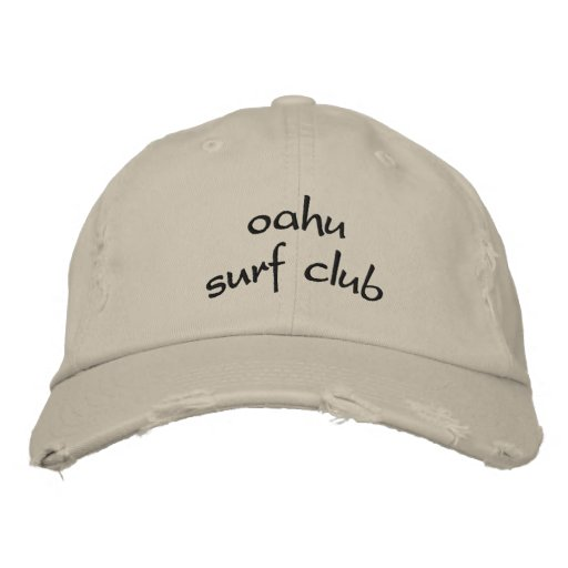 Oahu Surf Club Embroidered Hats