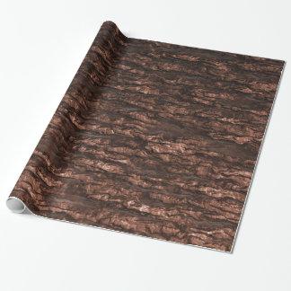 Oak Bark Camo Wrapping Paper
