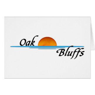 Oak Bluffs Greeting Card