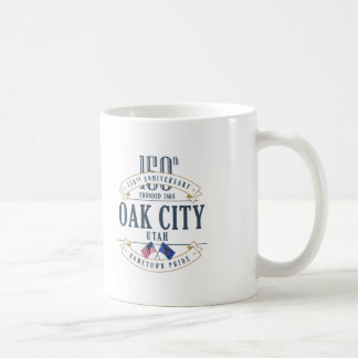 Oak City, Utah 150th Anniversary Mug