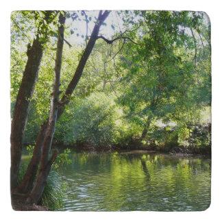 Oak Creek I in Sedona Arizona Nature Photography Trivet
