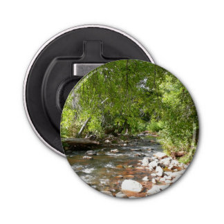 Oak Creek II in Sedona Arizona Nature Photography Bottle Opener