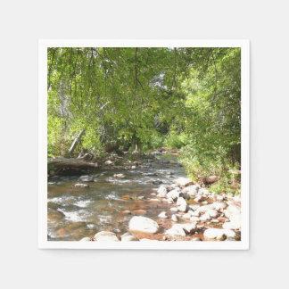 Oak Creek II in Sedona Arizona Nature Photography Disposable Serviette