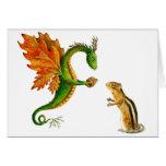 Oak Dragon Greeting Cards