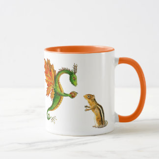 "Oak Dragon ""I love Autumn"" mug"