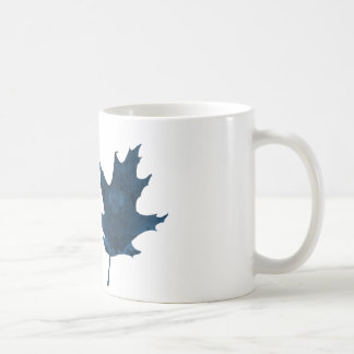 Oak leaf coffee mug