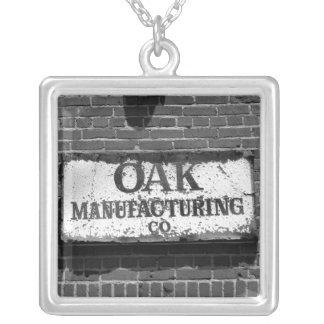 Oak Manufacturing Sign Pendants