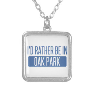 Oak Park Silver Plated Necklace