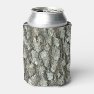 Oak Tree Bark Real Wood Camo Camouflage Can Cooler