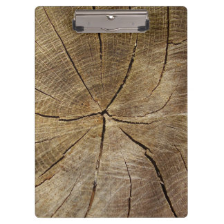 Oak Tree Cross Section Clipboard