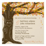 Oak Tree Fall Wedding Shower Invitation