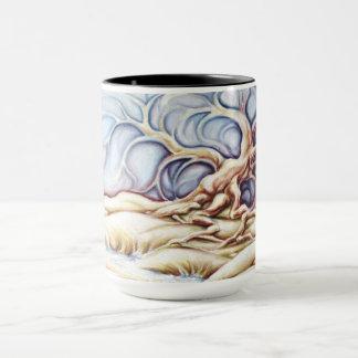 Oak Tree Hot Coffee Mug