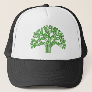 Oak tree Oakland green Trucker Hat