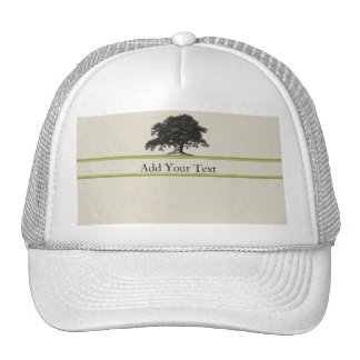 Oak Tree Plantation in Green Cap